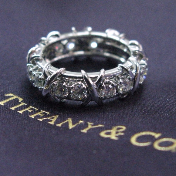 3242d5c02 Tiffany & Co. Jewelry | Tiffany Co Platinum Jean Schlumberger 16 ...